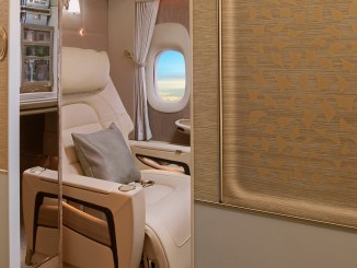 Emirates boeing 777 new first class review