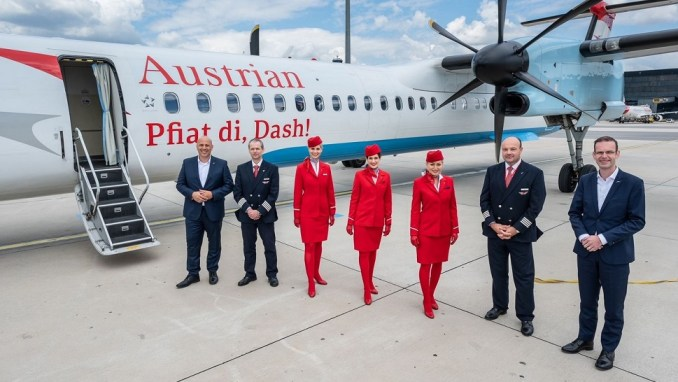 austrian airlines turboprop