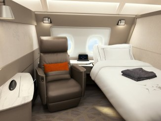 singapore airlines a380 first class review
