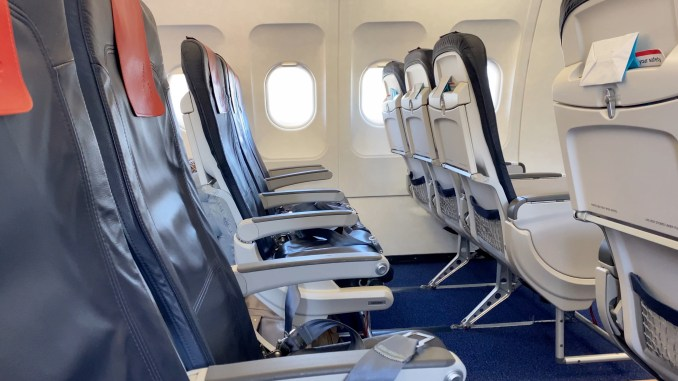 BRUSSELS AIRLINES A319 ECONOMY CLASS