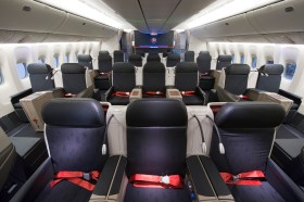 TURKISH AIRLINES BUSINESS CLASS CABIN BOEING 777