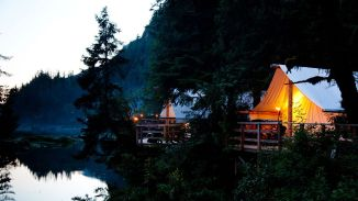 1. CLAYOQUOT WILDERNESS LODGE, BRITISH COLUMBIA, AUSTRALIA