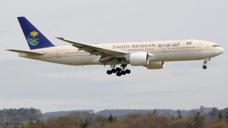 8. SAUDI AIRLINES B777 - JEDDAH TO LOS ANGELES