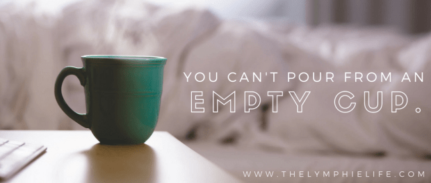 lymphie-life-you-cant-pour-empty-cup-banner