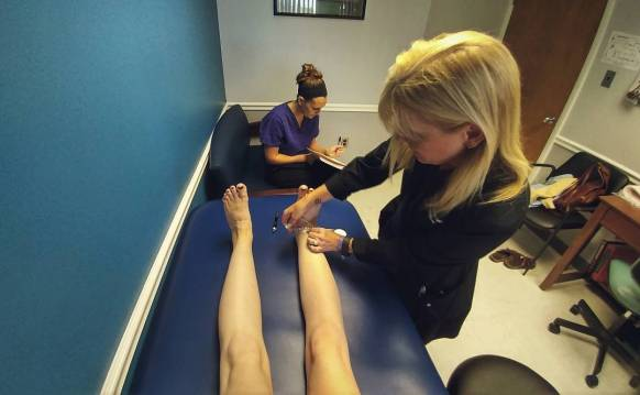 Getting measured for my Relax!