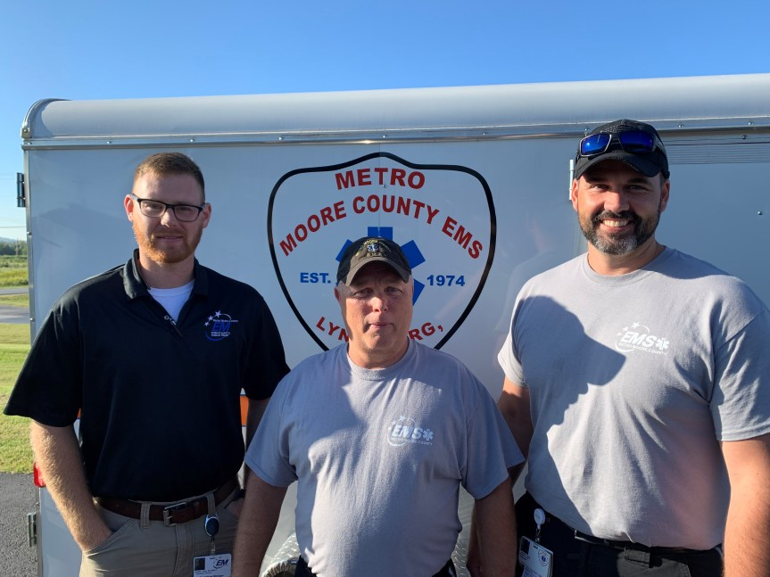 Moore County EMS deploys to North Carolina