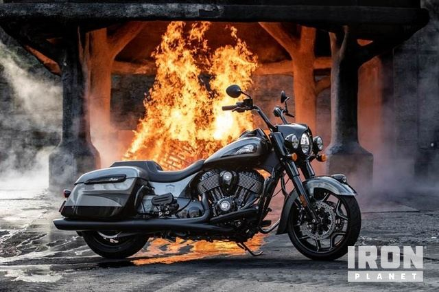 2020 Indian Springfield Limited Edition Jack Daniels Motorcycle