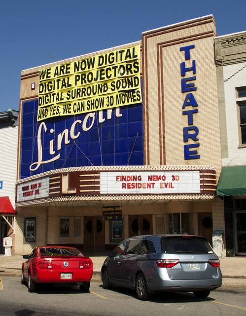 Historic Lincoln Theatre goes all digital