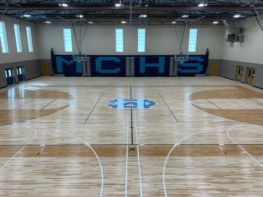 School Director: New MCHS Gym almost ready for action