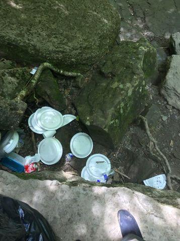 trash at South Cumberland