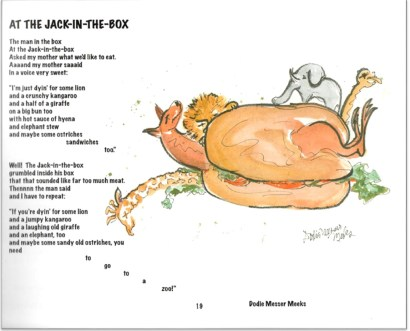 A Bouquet of Poems - At The Jack in the Box