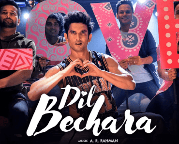 Dil Bechara Song Lyrics
