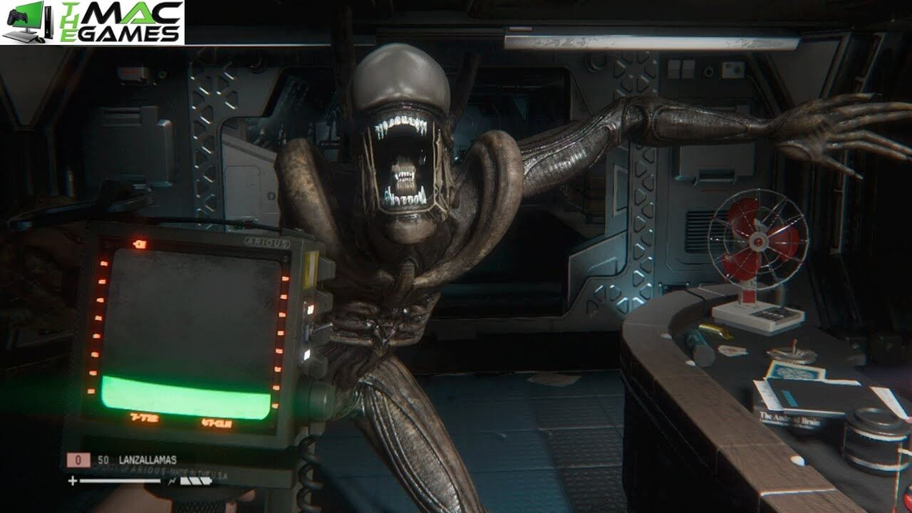Alien Isolation Mac Gameplay