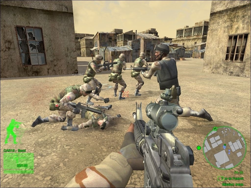 Delta Force Black Hawk Down MAC Game Free Download