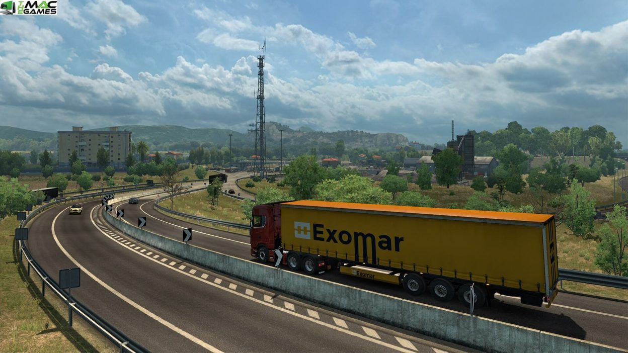 Euro Truck Simulator 2 Italia MAC Game Free Download