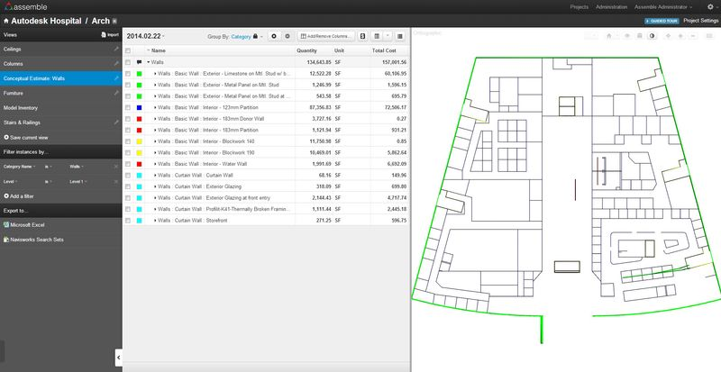 Managing Revit Data with Assemble from Assemble Systems