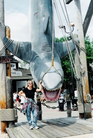 With Jaws - Universal Studios (Florida)