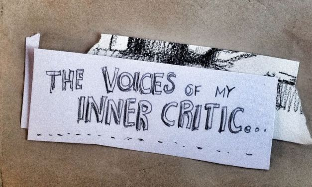 An illustrated guide to my inner critic…