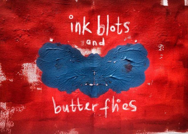 Ink blots and butterflies