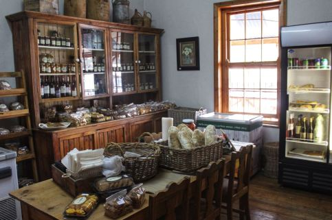 True Living also has a little shop selling freshly baked yummies, jams, pickles and all kinds of other stuff...