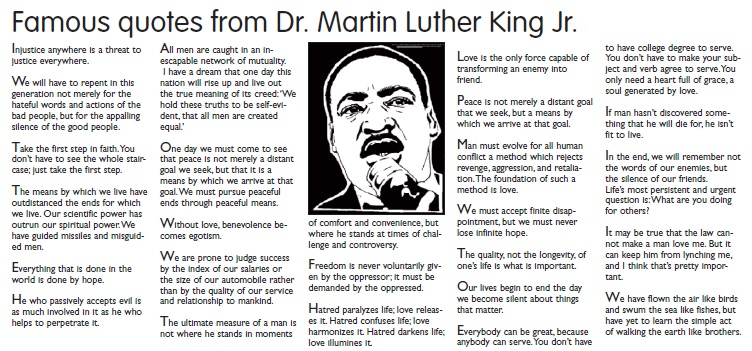 Dr Martin Luther King Famous Quotes. QuotesGram
