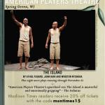 """American Players Theatre Presents """"The Island"""""""