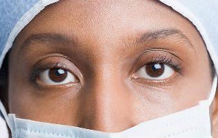 face-closeup-eyes-person-wearing-scrubs