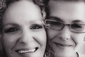 Lory Seffrood (left), mother of murder-suicide perpetrator and victim, Morgan Slaight (right).