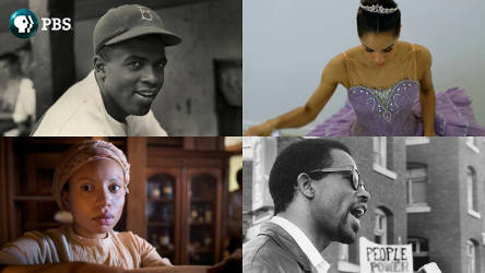 pbs-african-american-content-Jackie-Robinson-Misty-Copeland-Aurelia-Johnson-Shalita-Grant-the-black-panthers
