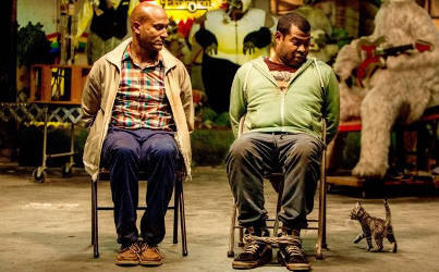 Keegan-Michael Key and Jordan Peele co-star in the action-comedy Keanu. (Warner Bros.)