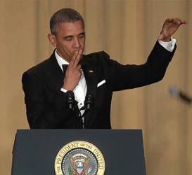 Obama, Out: The Commander-In-Chief Proves Once Again that He's the Best to Ever Do It