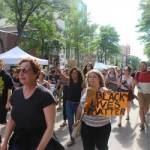 Hundreds Gather For Protest March In Madison Sunday