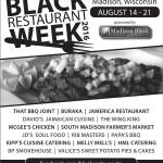Black Restaurant Week in Madison