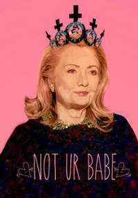 Hillary poster. Credit: Allison Chang