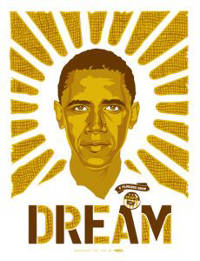 "Obama ""Dream"" poster. Credit: Ray Noland."