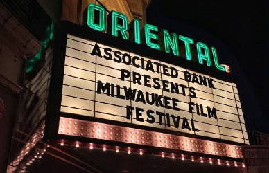 Oriental Theater during the 2016 Milwaukee Film Festival. Scottie Meyers/WPR