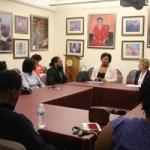 Tammy Baldwin Meets with Milwaukee's Young Black Emerging Leaders at NAACP Office