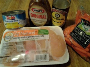 Crock pot Hawaiian Chicken…