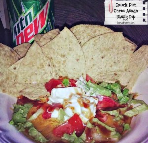 There are times when I just need something Hispanic. I know I talk about my addiction to Taco Bell, a lot. We also know how much I love my crock pot. So, I combined my loves and created this Crock Pot Carne Asada Steak Dip! I know, I know...It's not authentic Mexican food.
