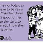 When Mom Is Sick…