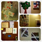 {Almost}Wordless Wednesday with Kid Art.