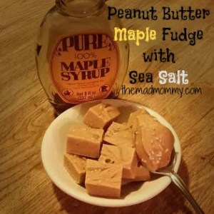 Peanut Butter Maple Fudge!