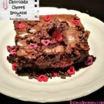 Chocolate Cherry Brownies!