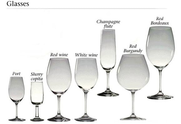 Difference Between Wine And Champagne Glasses