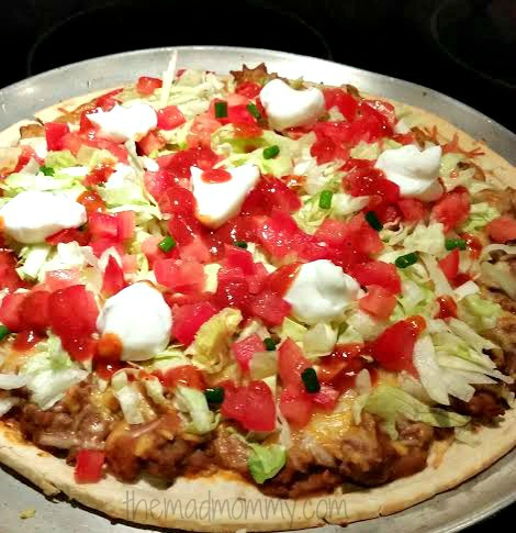 taco pizza themadmommy.com