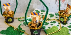 This is the perfect reward for the little leprechaun hunters in your house. Go ahead and put some K-Cup Leprechaun Loot at the end of your rainbow!