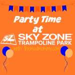 Party Time At Sky Zone!