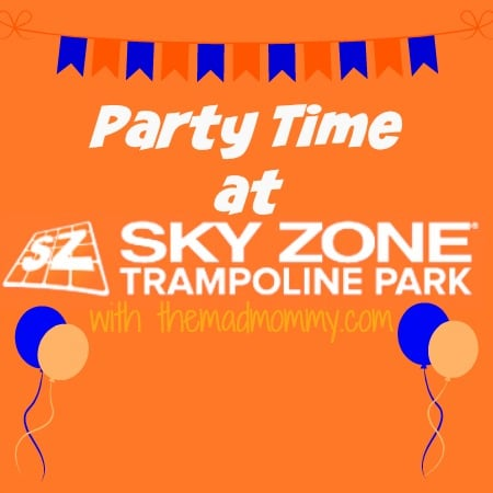 Our Sky Zone Birthday Party Experience!