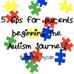 5 Tips For Parents Beginning The Autism Journey