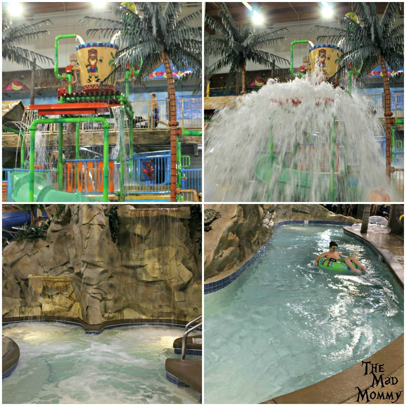 Our favorite parts of the indoor waterpark at the Edgewater Hotel and Waterpark in Duluth!